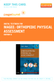 cover image - Orthopedic Physical Assessment - Elsevier eBook on VitalSource (Retail Access Card),5th Edition