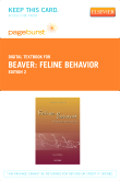 cover image - Feline Behavior - Elsevier eBook on VitalSource (Retail Access Card),2nd Edition
