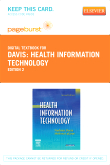 cover image - Health Information Technology - Elsevier eBook on VitalSource (Retail Access Card),2nd Edition