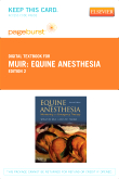 Equine Anesthesia - Elsevier eBook on VitalSource (Retail Access Card), 2nd Edition