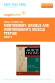 Daniels and Worthingham's Muscle Testing - Elsevier eBook on VitalSource (Retail Access Card), 8th Edition