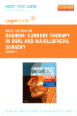 cover image - Current Therapy In Oral and Maxillofacial Surgery - Elsevier eBook on VitalSource (Retail Access Card)