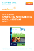 The Administrative Dental Assistant - Elsevier eBook on VitalSource (Retail Access Card), 2nd Edition