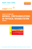 cover image - Contraindications in Physical Rehabilitation - Elsevier eBook on VitalSource (Retail Access Card)