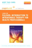 cover image - Introduction to Intravenous Therapy for Health Professionals - Elsevier eBook on VitalSource (Retail Access Card)