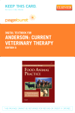 cover image - Current Veterinary Therapy - Elsevier eBook on VitalSource (Retail Access Card),5th Edition