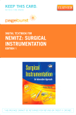 cover image - Surgical Instrumentation - Elsevier eBook on VitalSource (Retail Access Card)