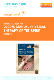 Manual Physical Therapy of the Spine - Elsevier eBook on VitalSource (Retail Access Card)