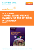 cover image - Equine Breeding Management and Artificial Insemination - Elsevier eBook on VitalSource (Retail Access Card),2nd Edition