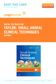 cover image - Small Animal Clinical Techniques - Elsevier eBook on VitalSource (Retail Access Card)