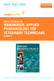 cover image - Applied Pharmacology for Veterinary Technicians - Elsevier eBook on VitalSource (Retail Access Card),4th Edition