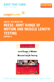 cover image - Joint Range of Motion and Muscle Length Testing - Elsevier eBook on VitalSource (Retail Access Card),2nd Edition