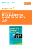 cover image - Radiographic Imaging for the Dental Team - Elsevier eBook on VitalSource (Retail Access Card),4th Edition