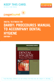 Procedures Manual to Accompany Dental Hygiene - Pageburst E-Book on VitalSource (Retail Access Card)
