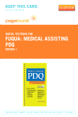 Medical Assisting PDQ - Elsevier eBook on VitalSource (Retail Access Card)