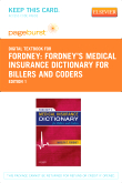 Fordney's Medical Insurance Dictionary for Billers and Coders - Elsevier eBook on VitalSource (Retail Access Card)