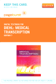 Medical Transcription - Elsevier eBook on VitalSource (Retail Access Card), 7th Edition