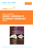 cover image - Handbook of Veterinary Neurology - Elsevier eBook on VitalSource (Retail Access Card),5th Edition