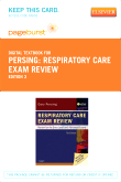 Respiratory Care Exam Review - Elsevier eBook on VitalSource (Retail Access Card), 3rd Edition