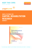 Rehabilitation Research - Elsevier eBook on VitalSource (Retail Access Card), 4th Edition