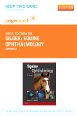 cover image - Equine Ophthalmology - Elsevier eBook on VitalSource (Retail Access Card),2nd Edition