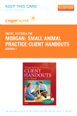 cover image - Small Animal Practice Client Handouts - Elsevier eBook on VitalSource (Retail Access Card)