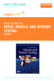 Muscle and Sensory Testing - Elsevier eBook on VitalSource (Retail Access Card), 3rd Edition