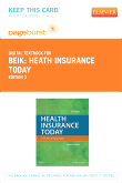 cover image - Heath Insurance Today - Elsevier eBook on VitalSource (Retail Access Card),3rd Edition
