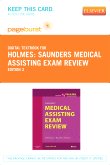 Saunders Medical Assisting Exam Review - Elsevier eBook on VitalSource (Retail Access Card), 3rd Edition