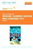 cover image - Saunders Nursing Drug Handbook 2012 - Elsevier eBook on VitalSource (Retail Access Card)