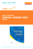 cover image - Nursing Today - Elsevier eBook on VitalSource (Retail Access Card),7th Edition