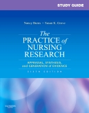 cover image - Study Guide for The Practice of Nursing Research - Elsevier eBook on VitalSource,6th Edition