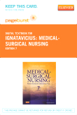 Medical-Surgical Nursing - Pageburst E-Book on VitalSource (Retail Access Card), 7th Edition