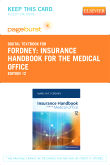 cover image - Insurance Handbook for the Medical Office - Elsevier eBook on VitalSource (Retail Access Card),12th Edition