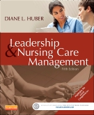 cover image - Leadership and Nursing Care Management,5th Edition