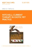 cover image - Current Therapy in Exotic Pet Practice - Elsevier eBook on VitalSource (Retail Access Card)