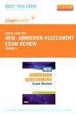 cover image - Admission Assessment Exam Review - Elsevier eBook on VitalSource (Retail Access Card),3rd Edition