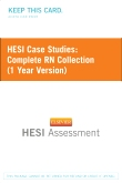 cover image - HESI Case Studies: Complete RN Collection (1 Year Version)