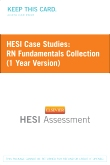 HESI Case Studies: RN Fundamentals Collection (1 Year Version)