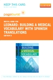 cover image - Building a Medical Vocabulary - Elsevier eBook on VitalSource (Retail Access Card),8th Edition