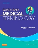 cover image - Quick & Easy Medical Terminology - Elsevier eBook on VitalSource,7th Edition