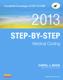 cover image - Step-by-Step Medical Coding, 2013 Edition