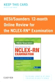 HESI/Saunders Online Review for the NCLEX-RN Examination (1 Year) (Access Card)