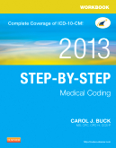 cover image - Workbook for Step-by-Step Medical Coding, 2013 Edition
