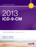 cover image - 2013 ICD-9-CM for Hospitals, Volumes 1, 2 and 3 Professional Edition