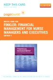 cover image - Financial Management for Nurse Managers and Executives - Elsevier eBook on VitalSource (Retail Access Card),4th Edition