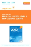 2012 HCPCS Level II Professional Edition - Elsevier eBook on VitalSource (Retail Access Card)