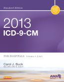 cover image - 2013 ICD-9-CM for Hospitals, Volumes 1, 2 and 3 Standard Edition
