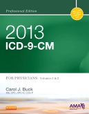 cover image - 2013 ICD-9-CM for Physicians, Volumes 1 and 2 Professional Edition