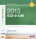 cover image - 2013 ICD-9-CM for Physicians, Volumes 1 and 2, Standard Edition